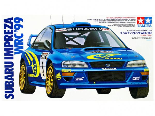 Subaru Impreza WRC`99 (1:24)