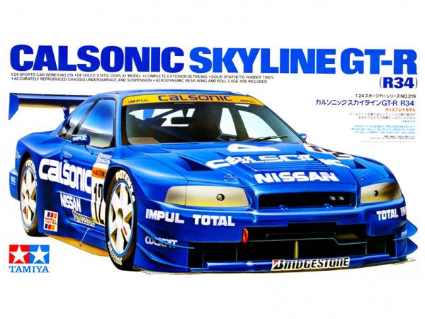 Nissan Calsonic Skyline GT-R (R34) (1:24)