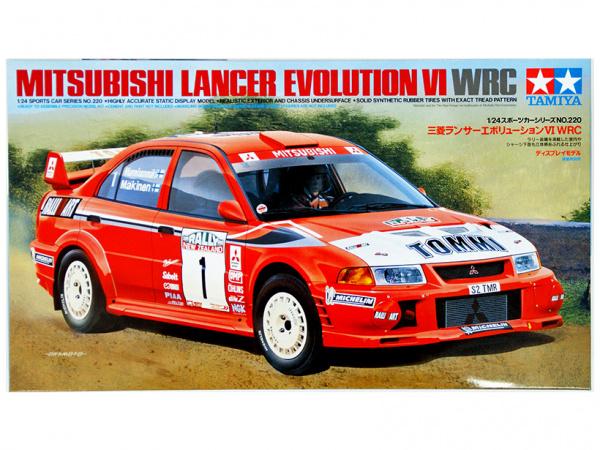Lancer Evolution VI WRC (1:24)
