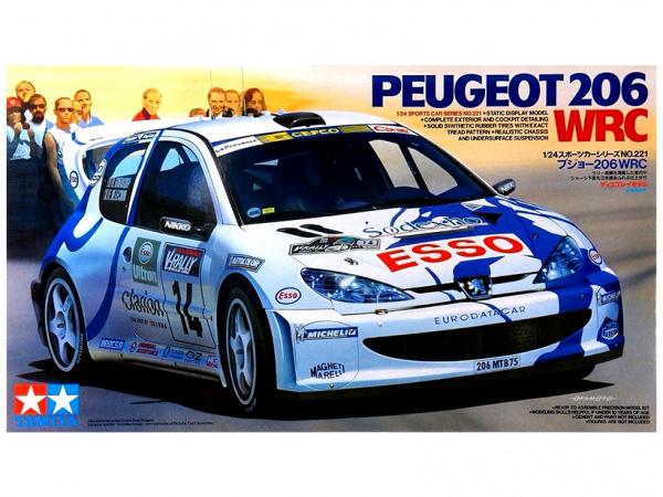 Peugeot 206WRC (1:24)