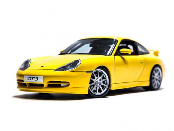 Модель - Porche 911 GT3 (1:24).