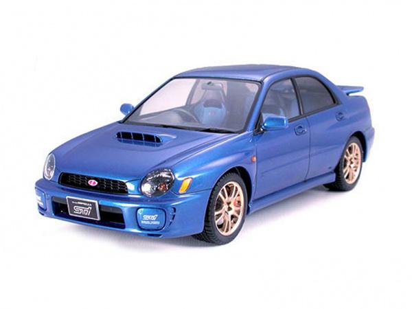 Модель - Subaru Impreza WRX STi (1:24).