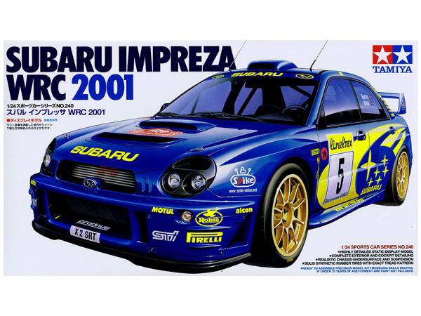 Subaru Impreza WRC 2001 (1:24)