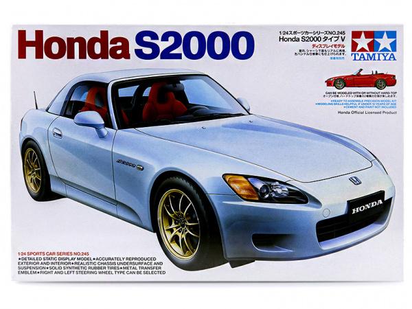 Honda S 2000 (2001 Verdion) (1:24)