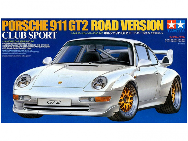 Porsche 911 GT2 Road Version Club Sport 1:24)