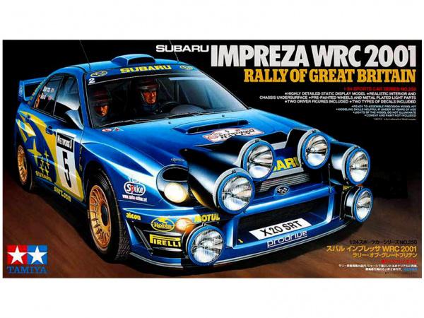 Модель Subaru Impreza WRC 2001 Rally of Great Britain (1:24)