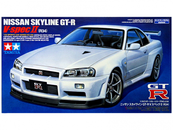 Nissan Skyline GT-R V-spec II (R34) (1:24)