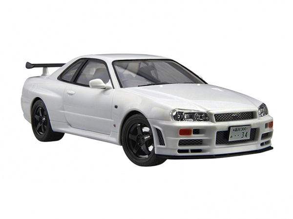 Модель - Nissan Skyline GT-R V-spec II (R34) (1:24).