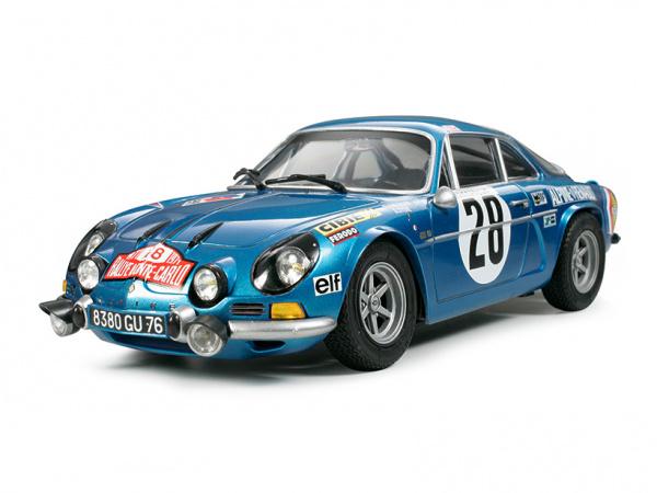 Модель - Alpine Renault A110 Monte-Carlo`71 (1:24).