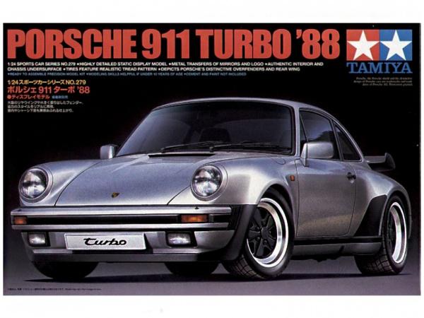 Porsche 911 Turbo`88 (1:24) Сборная модель