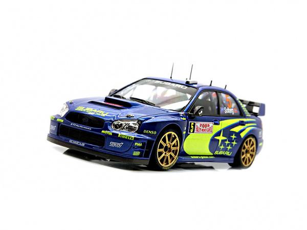Модель - Subaru Impreza WRC Monte Carlo `05 (1:24).