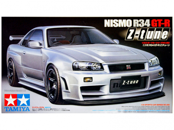Nissan Nismo R34 GT-R Z-tune (1:24) Сборная модель