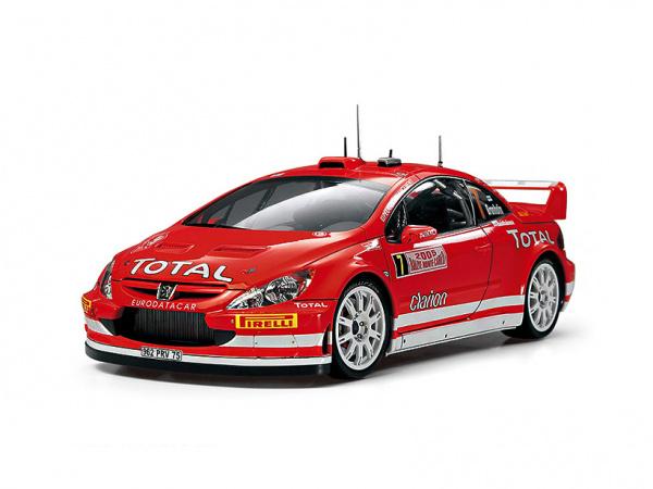 Модель - Peugeot 307 WRC Monte Carlo \'05 (1:24).