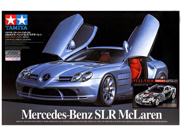 Mercedes-Benz SLR McLaren (1:24) Сборная модель