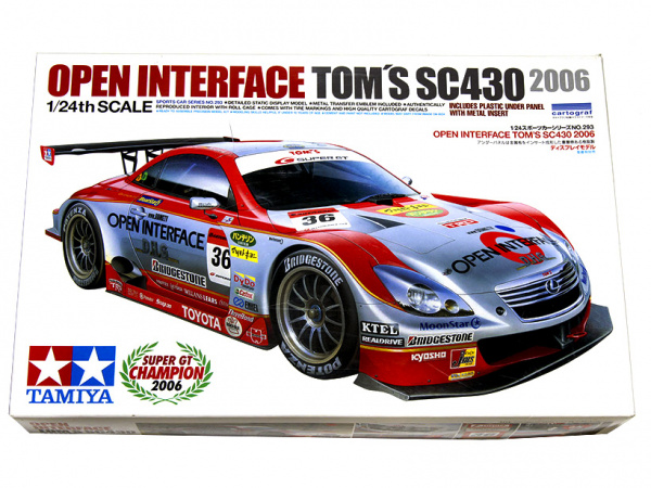 Lexus Open Interface Tom's SC430 (1:24) Сборная модель