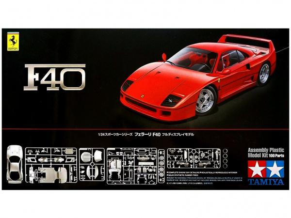 Ferrari F40 (1:24) Сборная модель