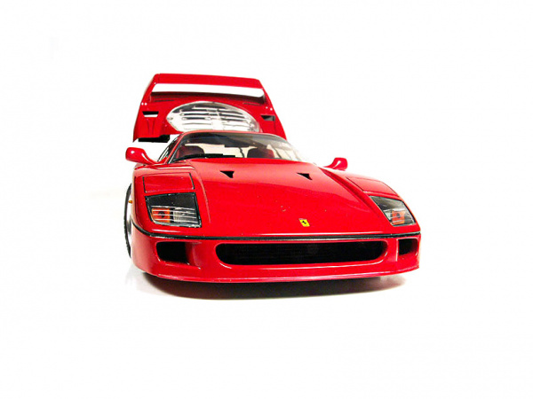 Модель - Ferrari F40 (1:24).