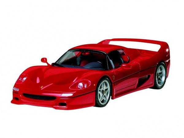 Модель - Ferrari F50 (1:24).