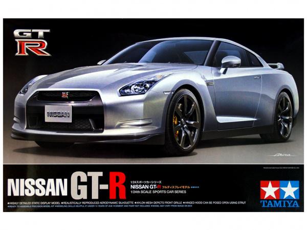 Nissan GT-R (1:24) Сборная модель