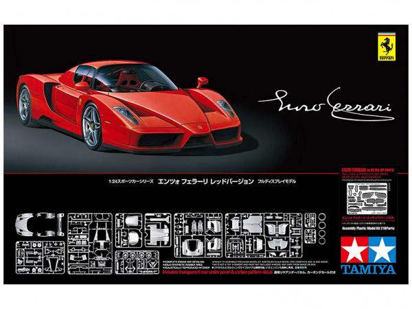 Enzo Ferrari Rosso Corsa (1:24) Сборная модель