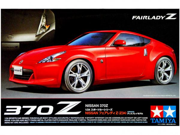 Nissan 370Z (1:24) Сборная модель