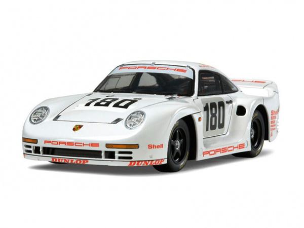 Модель - Porsche 961 Le Mans 24 Hours 1986 (1:24).