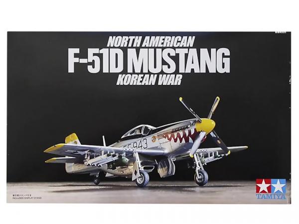 Модель Северно Американский F-51D MUSTANG