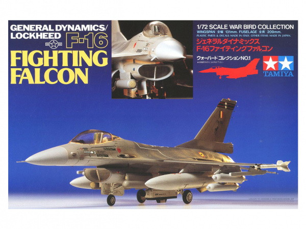 Модель F-16 Fighting Falcon
