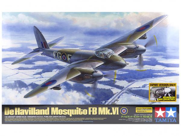 Mosqito FB MK VI с набором фототравления