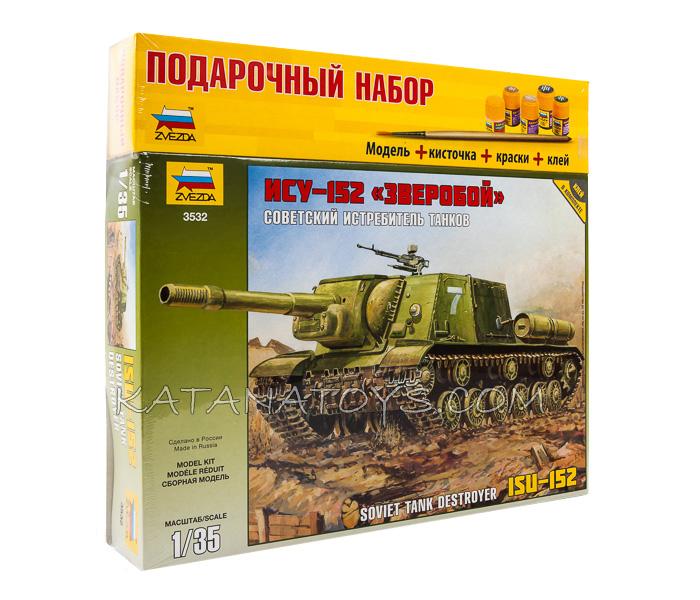 Сборная модель ИСУ-152 Зверобой