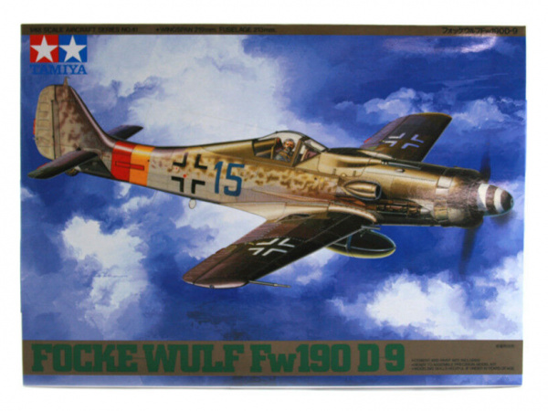 Модель Немецкий истребитель Focke-Wulf Fw190 D-9