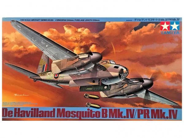 Модель Британский боевой самолет de Havilland Mosquito B Mk.IV / PR