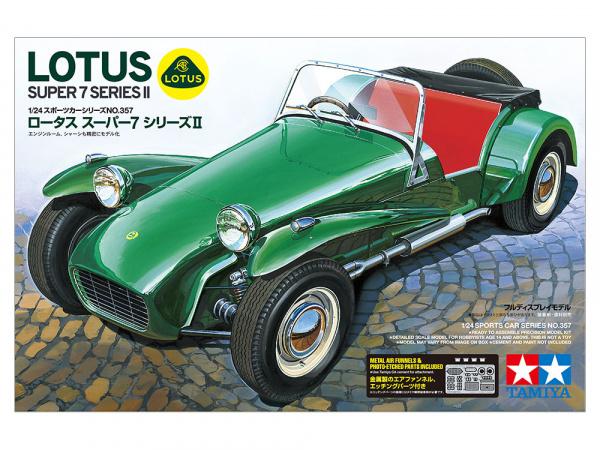 Модель Спортивный автомобиль Lotus Super 7 Series II