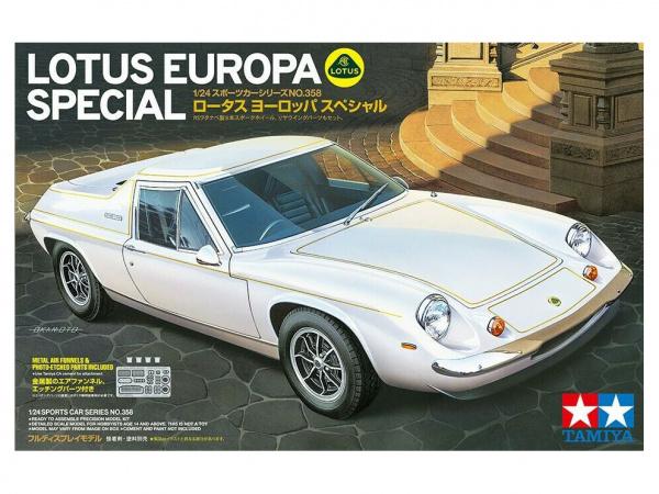 Модель Спортивный автомобиль Lotus Europa Special