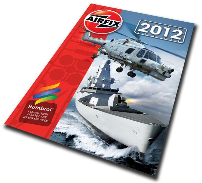 Сборная модель Каталог Airfix 2012