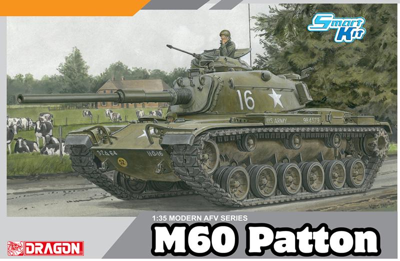 Модель основной танк США М60