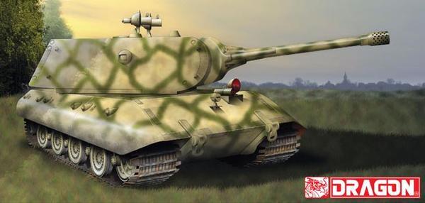 Тяжелый немецкий танк Е-100 Nachtjager