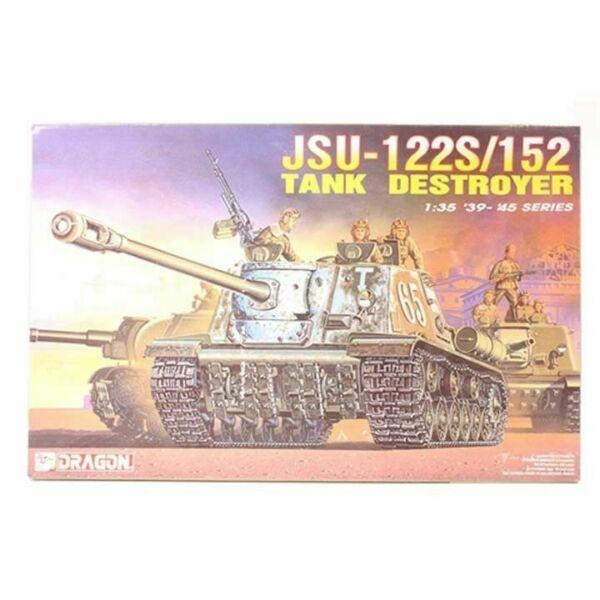 Модель Советское штурмовое орудие Ису-122с/152