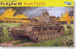 Модель Немецкий средний танк Pz.Kpfw.IV Ausf.F2(G)