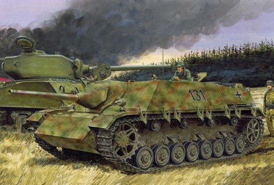 Модель Немецкая САУ JAGDPANZER IV L/48