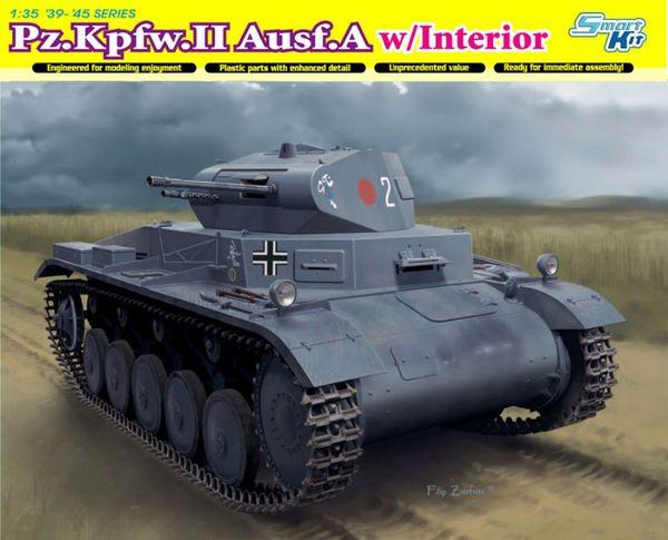 Модель Немецкий лёгкий танк Pz.Kpfw.II Ausf.A