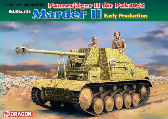 Модель ПАНЦЕРЯГР II САМОХОДКА 40/2 МАРДЕР II (РАННЯЯ ВЕРСИЯ)