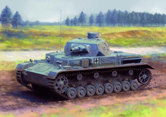 Модель Немецкий средний танк Pz.Kpfw.IV Ausf.А с усиленной бронёй.