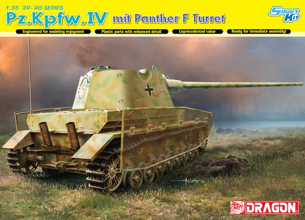 Модель ТАНК PZ.KPFW.IV С БАШНЕЙ ПАНТЕРА F
