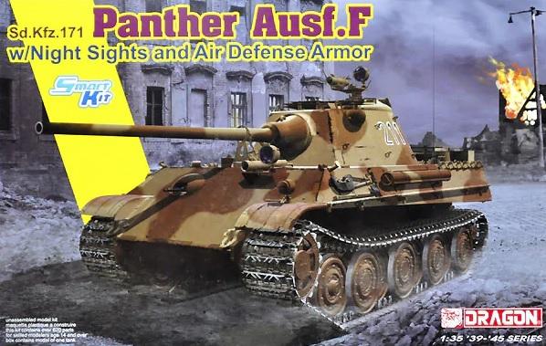 Модель Немецкий средний танк Sd.Kfz.171 Пантера F с ночным зрением