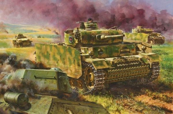 Модель Немецкий танк Pz.Kpfw.III Ausf.M