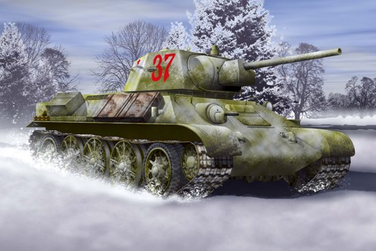 ТАНК Т-34/76 1942 ГОДА 1/72