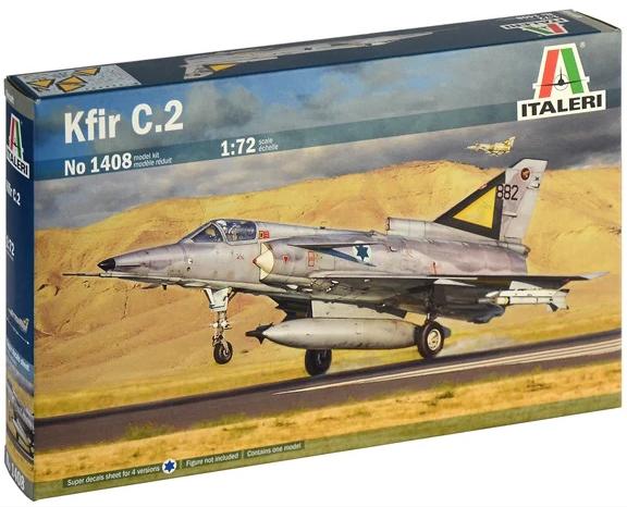 Модель Израильский всепогодный многоцелевой истребитель IAI Kfir C.