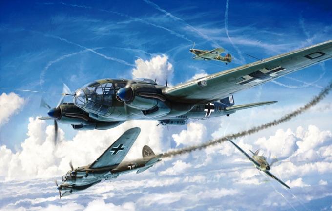 Модель Средний бомбардировщик люфтваффе HEINKEL HE-111H 1/72