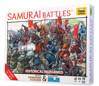 Настольная игра Сёгун. Битвы самураев